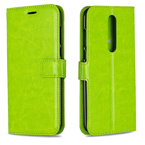 Casewin Cover Compatibile per Nokia 3.1 Plus, Custodia Morbida Anti-Graffio TPU Sottile Invisibile con Bordo Protettiva Case Custodia per Nokia 3.1 Plus - Verde