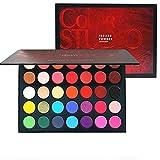Beauty Glazed 35 Couleurs Ombre à Paupière Matte & Shimmer, Palette de maquillage hautement pigmentée, Longue Durée...