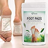 Prescia Foot Pads | Remove Impurities - Cleansing | 30 Piece Patch | Aids in Relieving Stress and Tension | Reduce Foot Odor | Pain Relief | All-Natural Ingredients | Organic Foot Pads