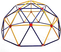 Easy Outdoor Space Dome Climber – Rust and UV Resistant Steel – 1000 lb. Capacity – For Kids Ages 3 to 9