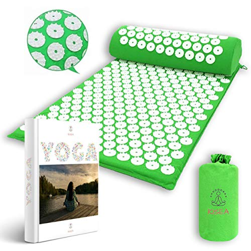 KISEA -Tapis acupression massage dos pour le Yoga,...