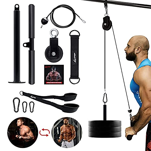 CFBF Pulley System Gym,  Strength Fitness Equipment Now $24.99 (Was $49.99)