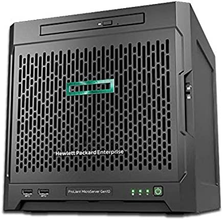 HPE MicroServer Gen10 Tower Server for Business, AMD Opteron X3216 up to 3.0GHz, 8GB RAM, 4TB Storage, RAID, 3 Years Warranty