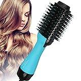 Hot Air Hair Dryer Brush, Multifunctional 4-in-1 Hot Hair Brush, for Straightening, Curling