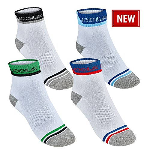 JOOLA Socken Ferrara (weiß-grün, M)