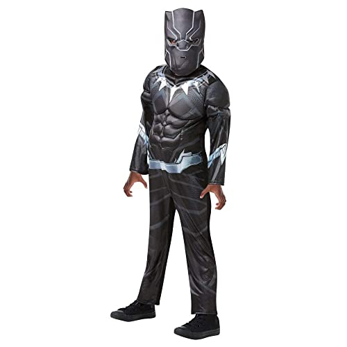 Rubieu0027s Official Disguise   Rubieu0027s Luxury Black Panther Disguise, Boy   Size M