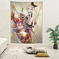 Anime Kagamine rin Printed Tapestry Background Decorative Tapestry Wall Hanging Decor 150x200cm