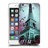 Head Case Designs La Torre Eiffel París Francia Mejor de Lugares Set 2 Carcasa de Gel de Silicona...