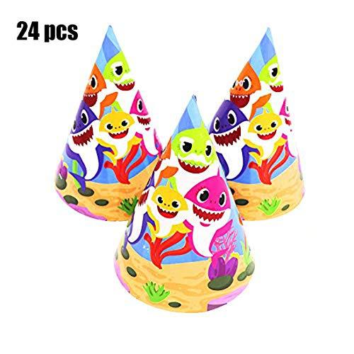 Baby Shark Birthday Party Hats