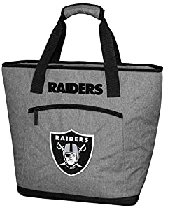 Rawlings NCAA Soft Sided Insulated Large Tote Cooler Bag, 30-Can Capacity, Las Vegas Raiders from Rawlings