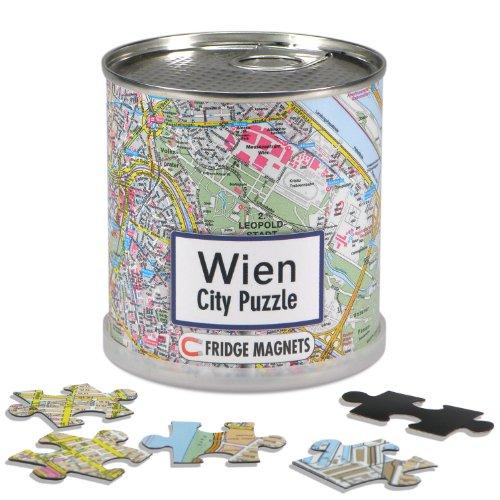 City Puzzle Magnets Wien