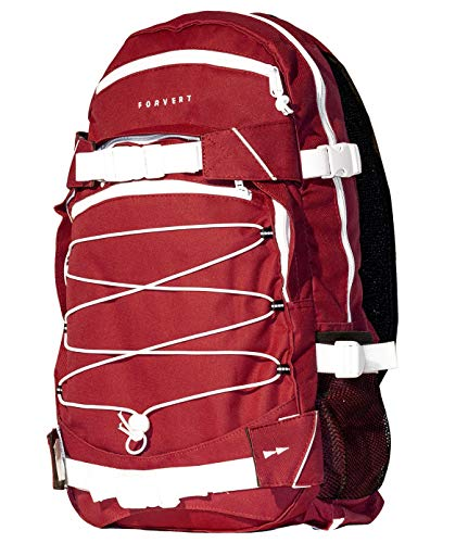 FORVERT Backpack Ice Louis, Rot(Burgundy), 50.5 x 26.5 x 12 cm, 19.5 Liter, 880229