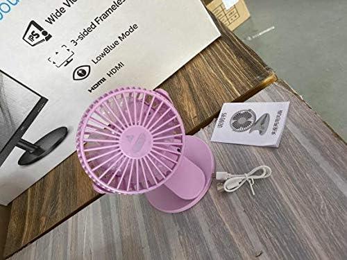 YASEking Sale USB Rechargeable Clip Table Fan Desktop Mini Beauty products Over item handling Porta