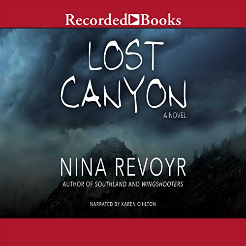 Lost Canyon audiobook cover art