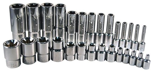 ATD Tools 13779 External Star Socket Set - 28 Piece