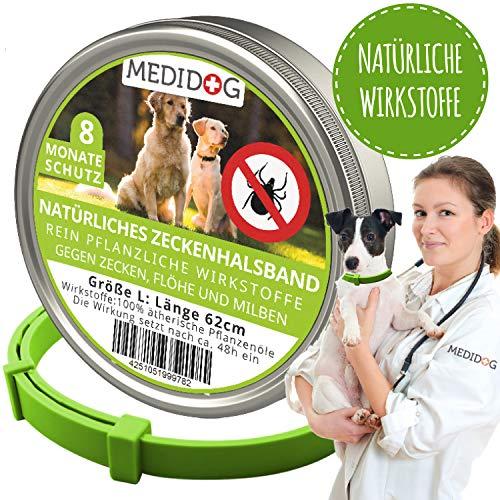 Medidog Natürliches Zeckenhalsband (Hund L)