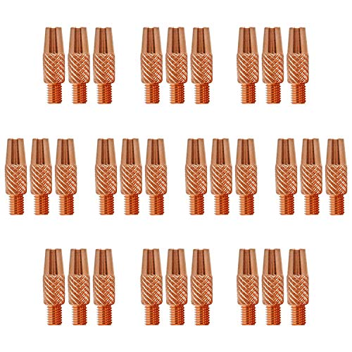 """Mig Welding Contact Tips 186-419 .030"""" for Miller Welder Gun Spoolmate 100, 200, 3035, 185 and Hobart Spoolgun DP-3035, SpoolRunner 100,Handler 125, 125 Ez, 130, 140, 190, 210MVP etc"""