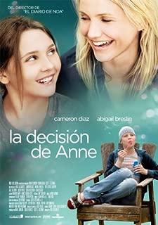 La Decision De Anne espagnol