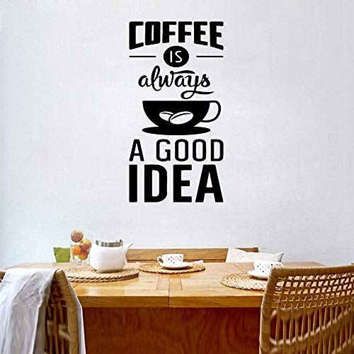 Ajcwhml Fototapete Kaffee ist eine Gute Idee