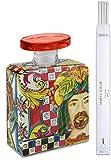 Maroc & Roll - Sicily Bottiglia Magnum DIFFUSORE Profumo Ambiente in Porcellana con Bacchette 3,5lt - SBTMAXI.B&R01