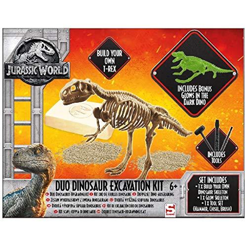 Unbekannt Sambro juw de 3303Juego de Desenterrar Dinosaurios, Jurassic World, Multicolor