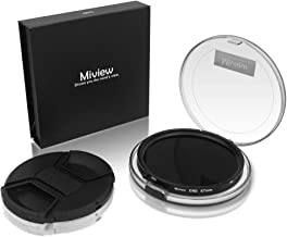 Miview CND Filter   Variable Fader ND2-ND32 ND Filter & CPL Circular Polarizing Filter 2 in 1 for Camera Lens with Nano Coating (67mm)