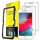 JETech Protector de Pantalla para iPhone 8, iPhone 7, iPhone 6s, iPhone 6 4,7', Vidrio Templado, 2 Unidades