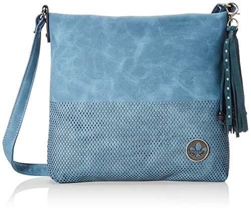 Rieker Damen Handtasche H1342, Blau (Wave), 260x50x270 cm