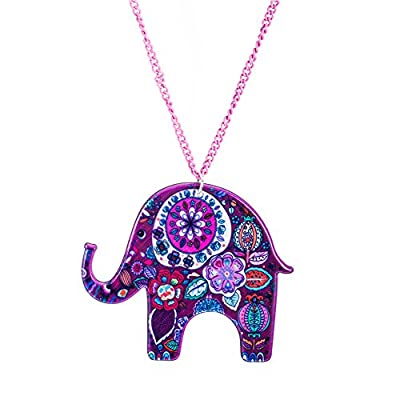 Expression Jewelry Assortment Of Elephant Necklaces