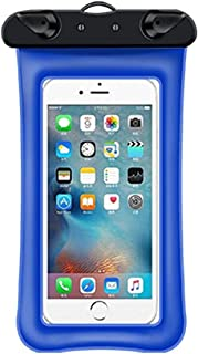 HLD Mobil vattentät väska Pekskärm transparent simning förseglad väska Vattentät mobiltelefon väska Universal mobiltelefon...