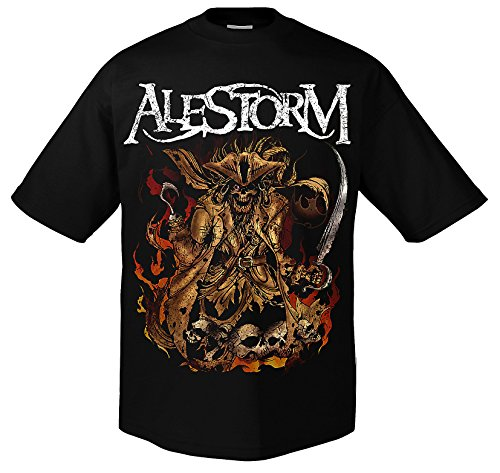 Alestorm We Are here to Drink Your Beer T-Shirt 2XL