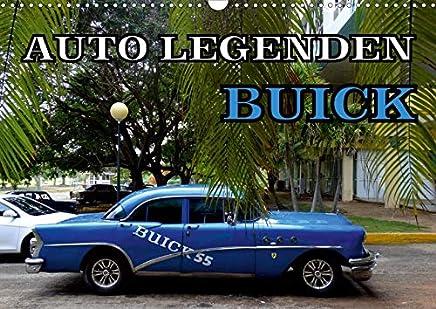 Auto Legenden BUICK (Wandkalender 2020 DIN A3 quer): BUICK-Modelle aus den Fünfziger Jahren auf Kuba (Monatskalender, 14 Seiten )
