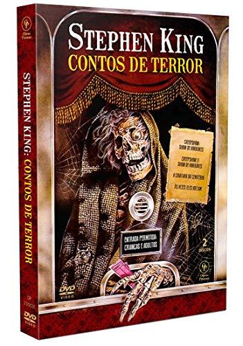Stephen King - Contos de Terror [Estojo Amaray com Luva - 2DVD's]