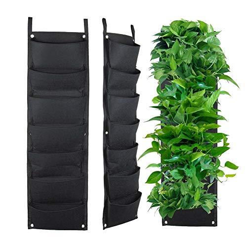 Modaily 7 Jardinera de Pared de Pared Colgante Vertical Planta de...