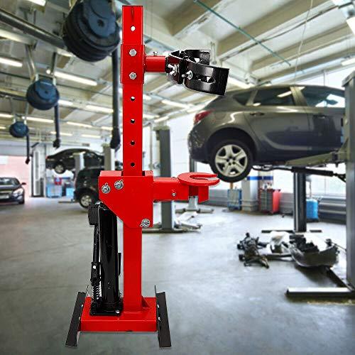 OUKANING Compresor de muelles para coche, herramienta de 1 T, tensor de muelles de muelle ajustable en 7 posiciones, máx. 1000 kg