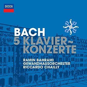 Bach, J.S.: 5 Klavierkonzerte