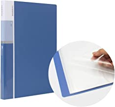MyLifeUNIT 30 Pocket A4 Presentation Book, 60 Page Capacity Business Presentation Folders, Presentation Book with Sleeves