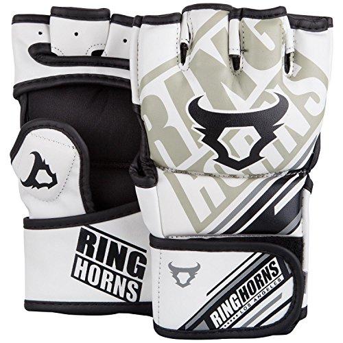Ringhorns Nitro MMA Handschuhe, WeiB, S