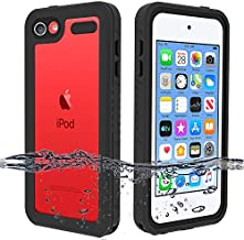 iPod Touch 7 Case, iPod Touch 6 Case, iPod Touch 5 Waterproof Case, BESINPO Full-Body Protective Cover Built-in Screen Protector Dustproof Shockproof Anti-Scratch Case for iPod Touch 7/6/5 Generation