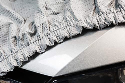 SOFTGARAGE 3-lagig lichtgrau Indoor Outdoor atmungsaktiv wasserabweisend Car Cover Vollgarage Ganzgarage Autoplane Autoabdeckung 102010-0583286