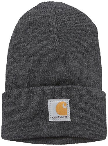 Carhartt Kids' Acrylic Watch Hat, Charcoal Heather (Toddler), One Size