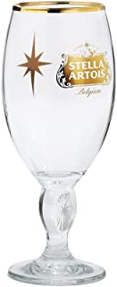 Stella Artois Gold Holiday Glass Chalice, 33cl