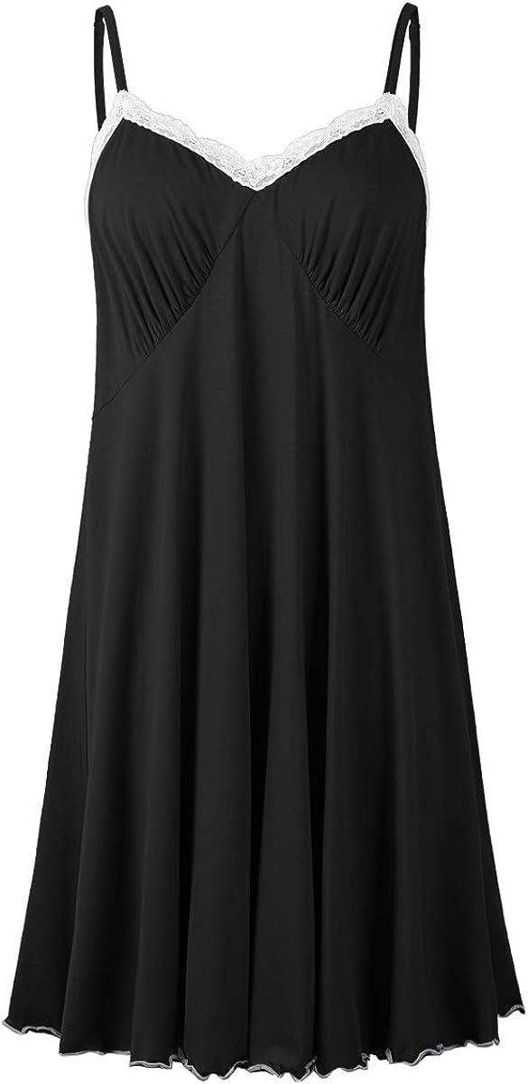 Jollielovin Discount is also underway Sexy Sleepwear For List price Women Siz Plus Chemise Nightgowns