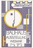 MReinart Bauhaus Vintage Plakat Kunst Ausstellung 1923