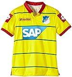 Lotto Hoffenheim - Camiseta Juvenil de fútbol (Manga Corta), diseño visitante Amarillo Amarillo Talla:Medium