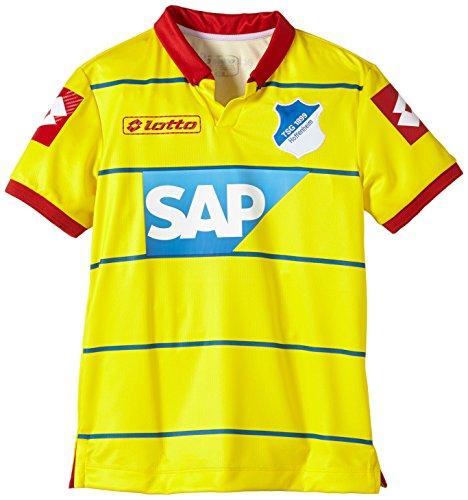 Lotto Hoffenheim - Camiseta Juvenil de fútbol (Manga Corta), diseño visitante Amarillo...