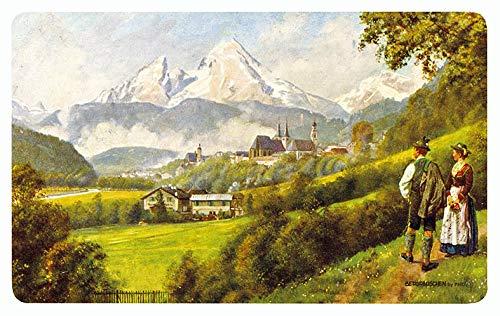 Bayern Landschaft. Bayerische...