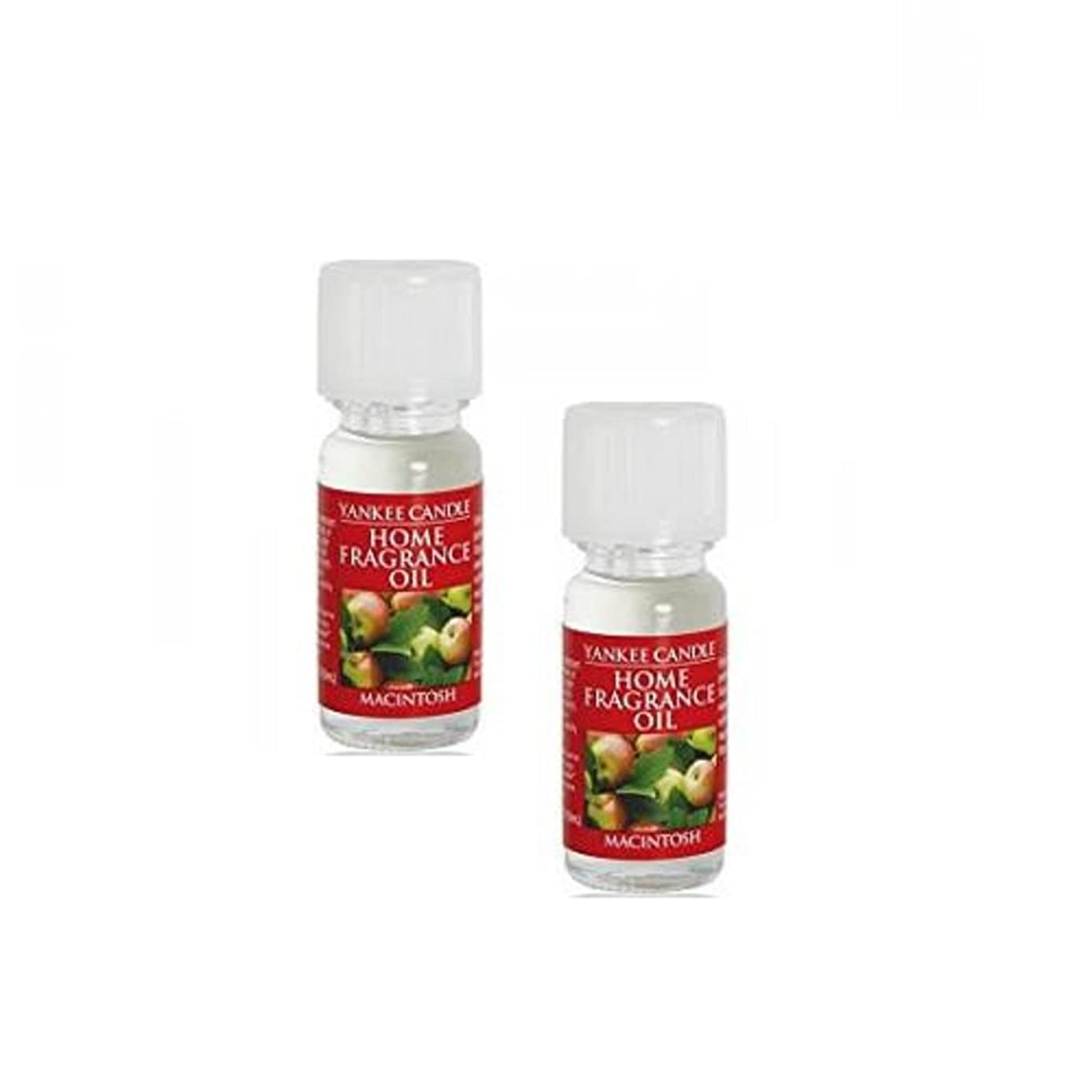 Yankee Candle 2 Pack Macintosh Fragrance Oil .33 Oz.