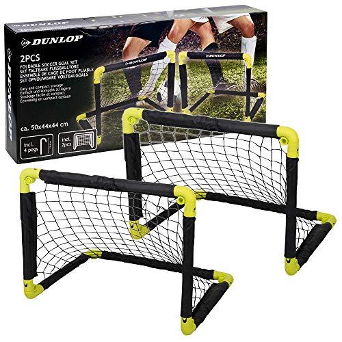 URBN-TOYS 2x Folding Mini Football Soccer Training Futsal Indoor Outdoor Garden Kids Goals