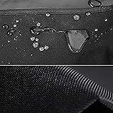 Color : Black, Size : 60x60x60cm Nera ZWJ-Giardino Copertura Copertura for Mobili in Rattan da Giardino Paralume for Esterno Oxford Copertura Antipolvere Copertura for Tavolo Impermeabile